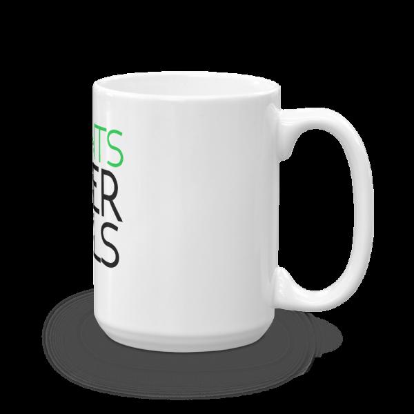 Plants Over Pills Coffee Mug