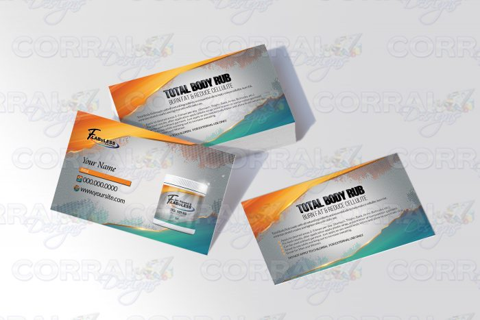 Get Waisted FlabuLess Business Cards