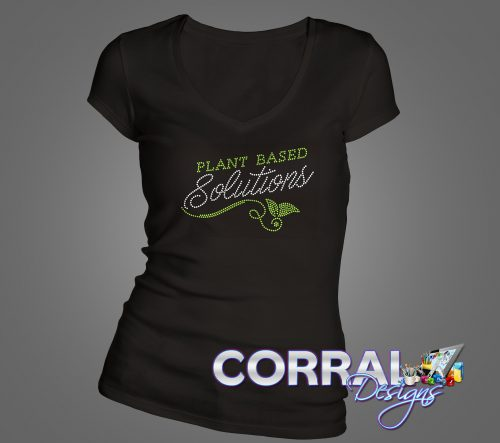 Plant Based Solutions Bling Shirt