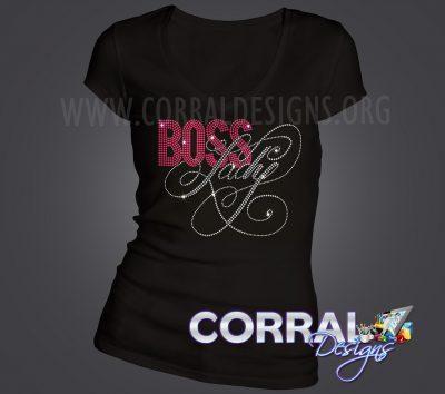 Boss Lady Bling Shirt
