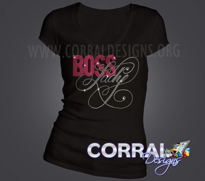 Boss Lady Bling Shirt