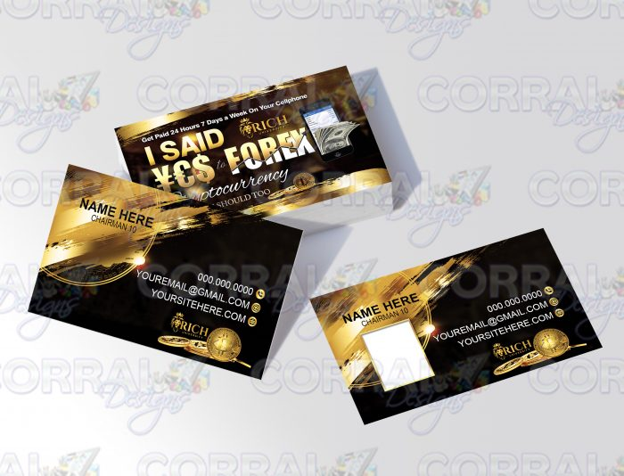 Yes to Forex Business Cards