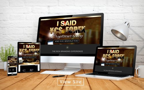 Yes to Forex Landing Page