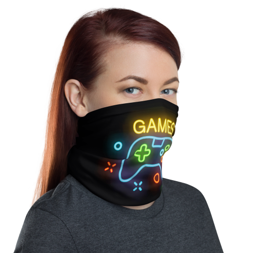 Games Face Mask Covering