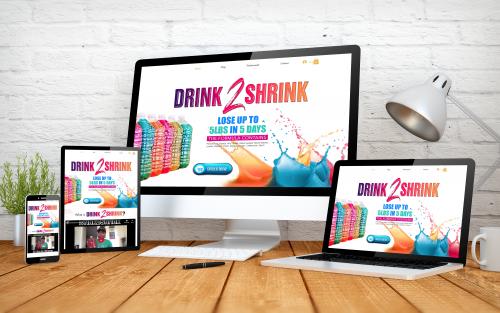 Drink 2 Shrink Website